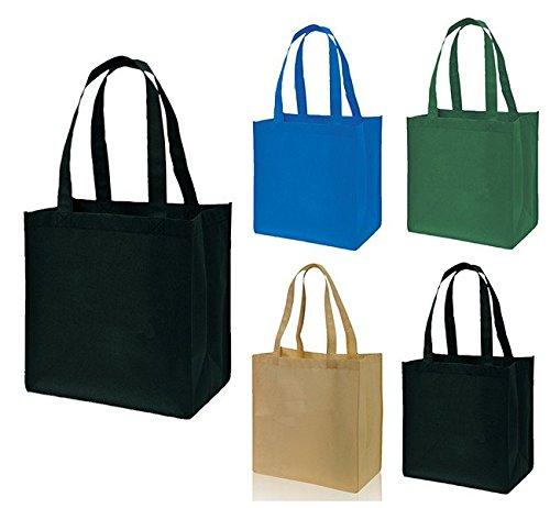 Reusable Small Eco Friendly Non Woven Tote Bags Book Bag Christmas Gift Art Craft School