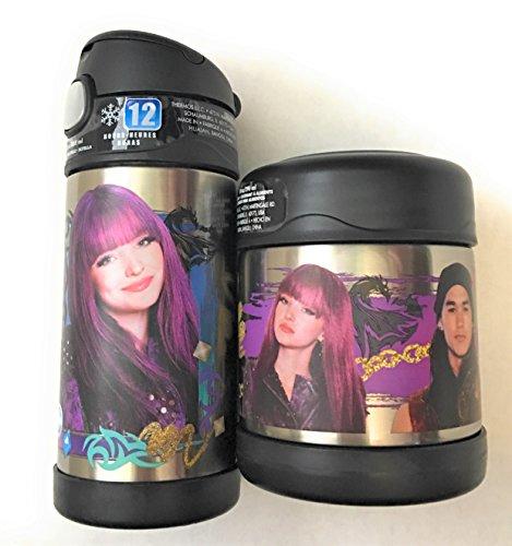 Disney Descendants 2 Funtainer Thermos Bottle Food Jar