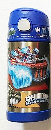 Skylanders Funtainer Thermos Bottle ~ 12 oz