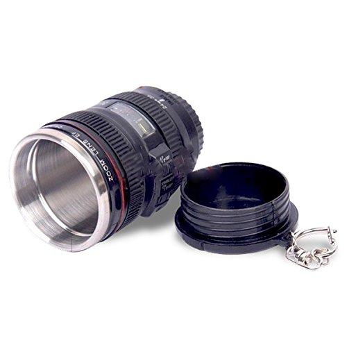 Keyring small thermos mug cup lens camera lens