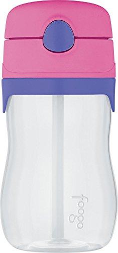 THERMOS FOOGO 11-Ounce Straw Bottle PinkPurple