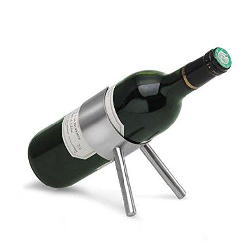 Creative Small Stainless Steel Gun Wine Rack European-style Wine Rack