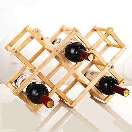 European-style wood folding wine rack creativeHome Wine Racks-B