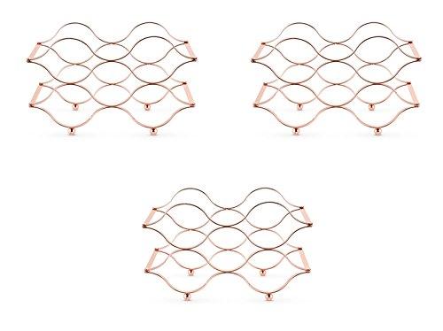 Sierra Folding Wine Rack Set of 3