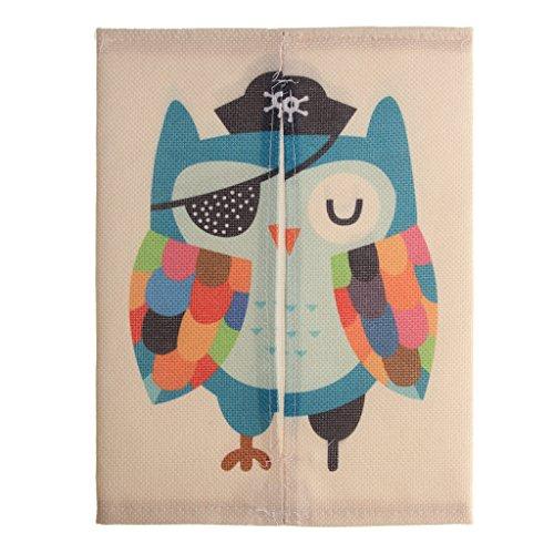 Cartoon Tissue Paper Storage Box Napkin Cover Holder Owl 245x185 cm