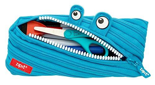 ZIPIT Monster Pencil Case Bright Blue ZTM-AL-3