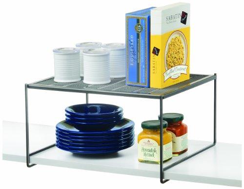 Lynk Locking Kitchen Pantry Cabinet Shelf - Closet Shelf Organizer - Platinum