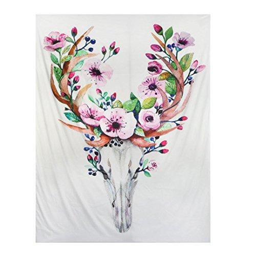 Tloowy Cactus Wall Hanging Tapestry Hippy Boho Gypsy Wall Hanging Bedspread Beach Towel Throw Mat Blanket Table Cloth Yoga Mat 59512