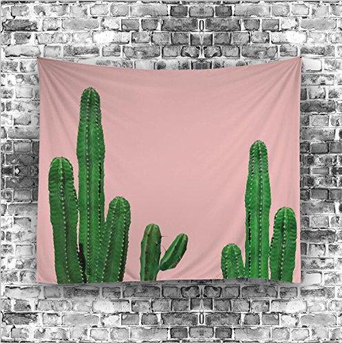 YOUSA Cactus Wall Hangings Tapestry Art Decor Creative Versatile Beach Towel 51x59