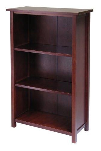 Winsome Wood 4-Tier Storage Shelf Long