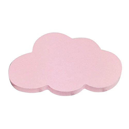 Canghai Cloud Room Hanger HookWooden Craft HookBag hand bag Cross Cloud Hook On Wall Decorate Back Door In Childrens Room Hanger Hook Pink