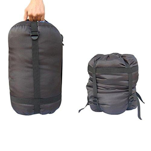OksaleBlueField Nylon Compression Stuff Sack Bag Outdoor Camping Sleeping Bag Small 173×87×87 Inch