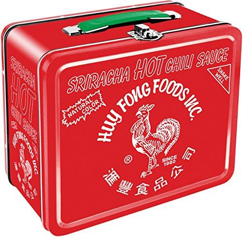 Aquarius Sriracha Large Tin Fun Box