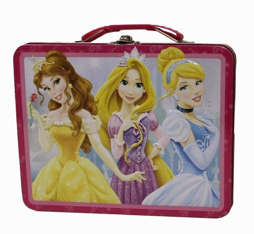 The Tin Box Company 877677-12 Disney Princess Carry All Tin- Assorted