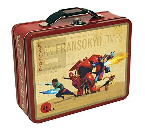 The Tin Box Company COK-76BH Disney Big Hero 6 Large Carry All Tin
