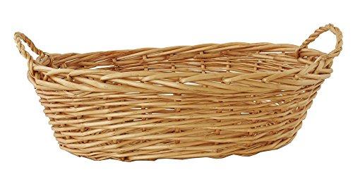 Wald Imports Brown Willow 175 Decorative Storage Basket