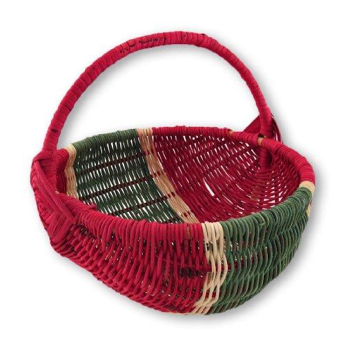 Wicker Watermelon Decorative Basket