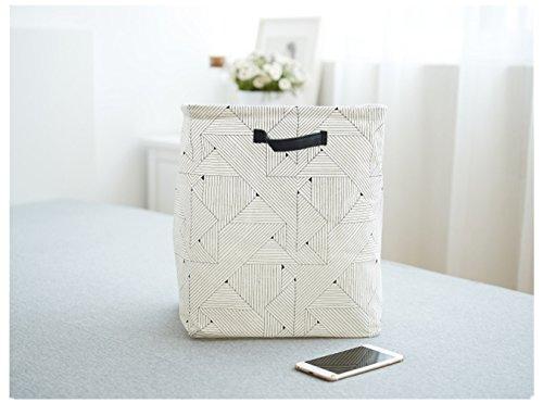 Creative Foldable Linen Storage Box  Debris Finishing  Clothes Storage Bag 12'' X 965''X 1437''