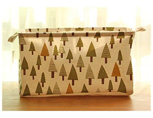 Creative Foldable Linen Storage Box  Debris Finishing  Clothes Storage Bag 1772'' X 1181'' X 984'' Tree