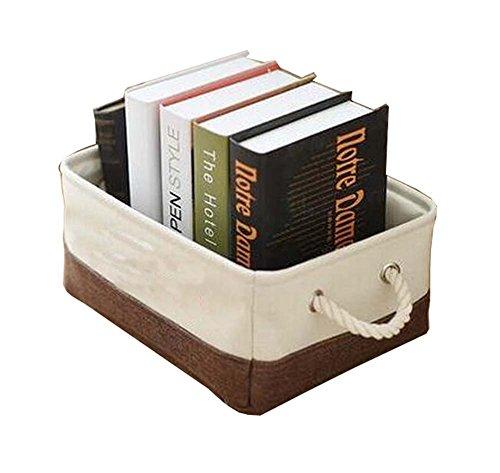 Linen Clothing Storage Box Storage Basket Storage Turnover Box Storage Bags