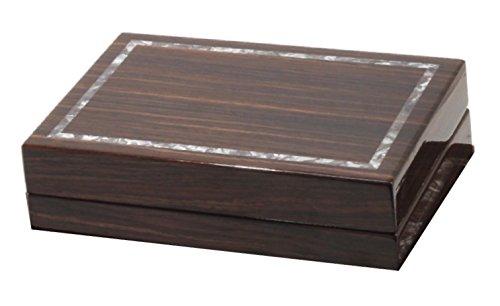 Eccolo High Gloss Lacquer Studio Brown Storage Box 95
