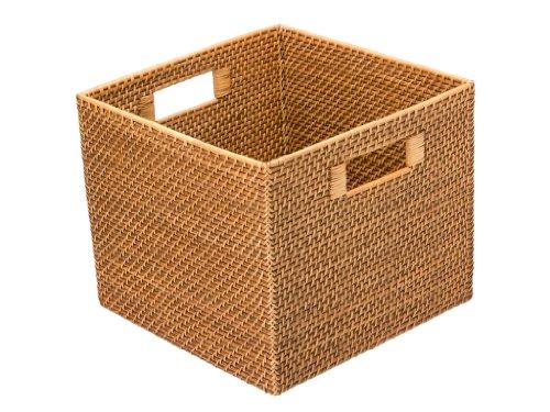 KOUBOO Square Rattan Utility Basket