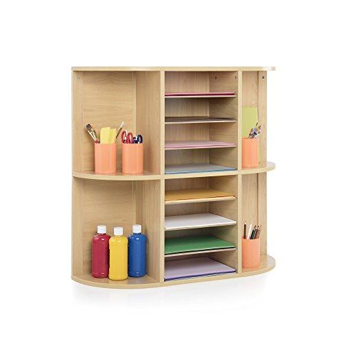 Display and Sort Storage Center School Supply Kids Furniture