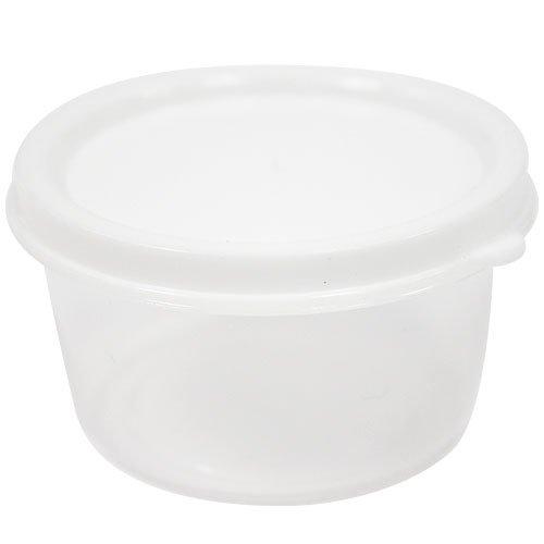 Nicole Home Collection 10 Count Mini Storage Containers Round 23 oz White