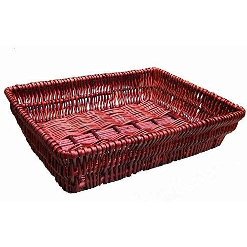 Wicker Rattan Straw Baskets Bread Basket Bread Tray Supermarket Display Baskets Storage Baskets