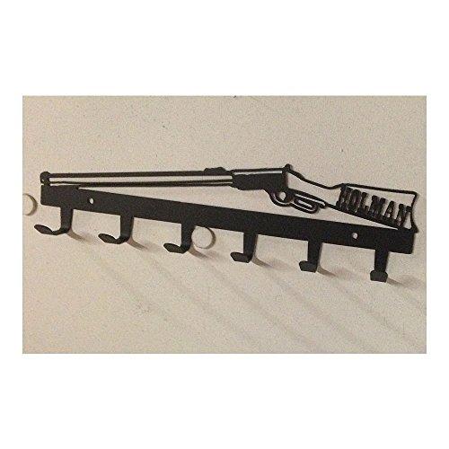 Coat Rack Custom Name in Stock 6 Hook Rifle