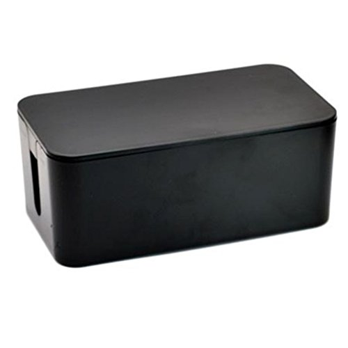 Generic Wire Storage Box Black
