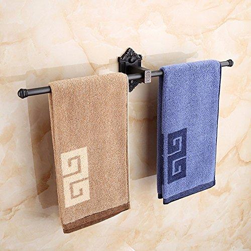 Continental black towel rail showers in the Antique Bathroom shelf Bathroom Wall Metal Hanger Model 1