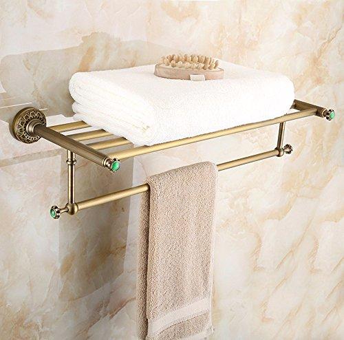 Euro style bathroom carved a versatile wall wall around the copper Antique Bathroom shelf punch towel rack metal racks