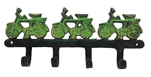 Wall Decorative Coat Hanger Bicycle Design Decor Hook Brass Metal Hanging Hook