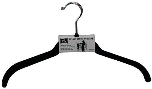 VMI 5CT Velvet Shirt Hanger 5 Piece