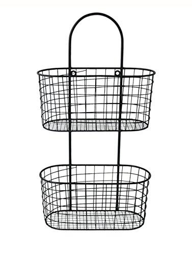 Cheungs FP-3915 Metal Wall Hanging Storage Basket