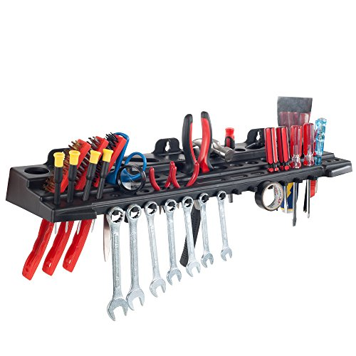 Multitool Organizer for Hand Tools Automotive Tools and Electric Tools Wall Mounted Tool Organizer Shelf by Stalwart
