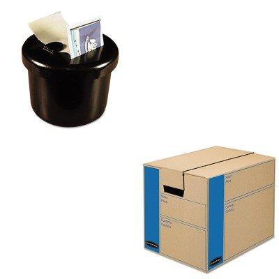 KITFEL0062701LEE40100 - Value Kit - Bankers Box SmoothMove MovingStorage Box FEL0062701 and Lee Ultimate Stamp Dispenser LEE40100