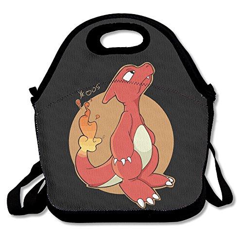 Charmeleon Flame Pokemon Lunch Bag Lunch Box Lunch Tote Lunch Tote Bag Lunch Holder For Adults Kids Men Women Boys Girls