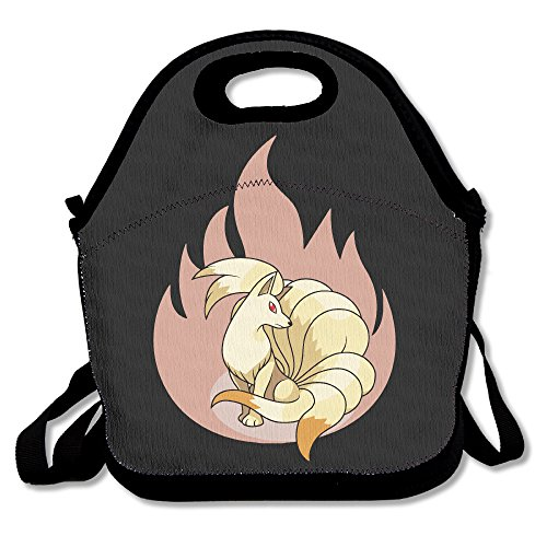 Ninetales Pokemon Lunch Bag Lunch Box Lunch Tote Lunch Tote Bag Lunch Holder For Adults Kids Men Women Boys Girls