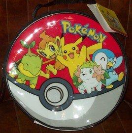 Pokemon Lunch Bag ~ Pikachu Turtwig Piplup Chimchar