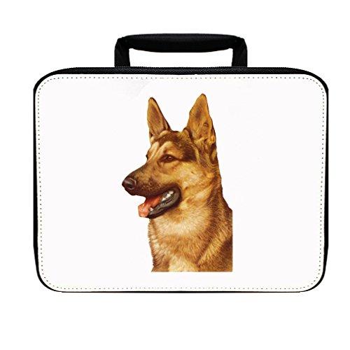 German Shepherd Vintage Look Insulated Lunch Box Bag