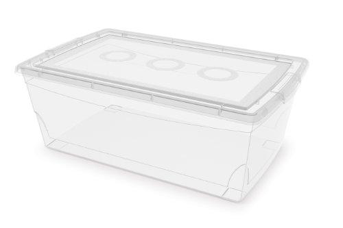 KIS Clear Omni Shoe Box  95-Quart9-Liter