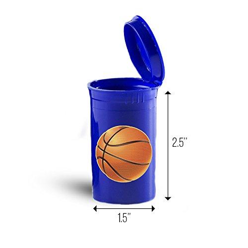 Basketball Sport Storage Organizer Bin for Vitamins ID 6255B