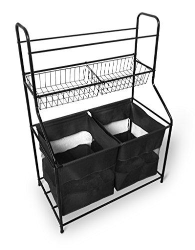 Bintopia 66601 Sport Storage Organizer Black