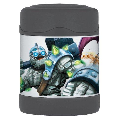 Thermos Unbreakable Stainless Steel Vacuum Insulation Funtainer Food Jar Skylander