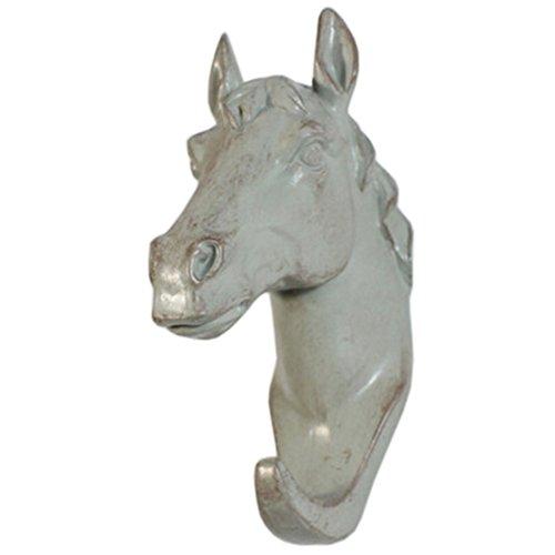 Home Decor Household Resin Utility Wall Hooks Animal Design Pothook Horse Grey