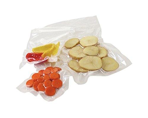 100 Count 3 Mil Food Vacuum Sealer Poly Bags 9 Layers 6x12