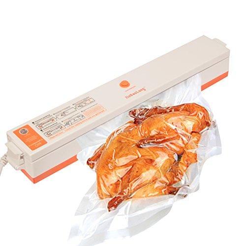 Mini Vacuum Sealers Dragon-hub Vacuum Package Machine with Magnet Pouch Set Best for Food Storage Bonus with 15 Antibacterial Plastic Bags