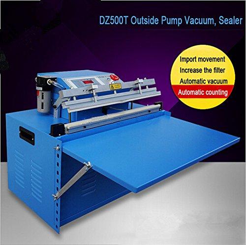 Boshi Electronic InstrumentDZ500T CommericalIndustrial Desktop Vacuum Sealing Machine Vacuum Sealer Outside Pumping Vacuum Packaging Machine For Maximum 500mm